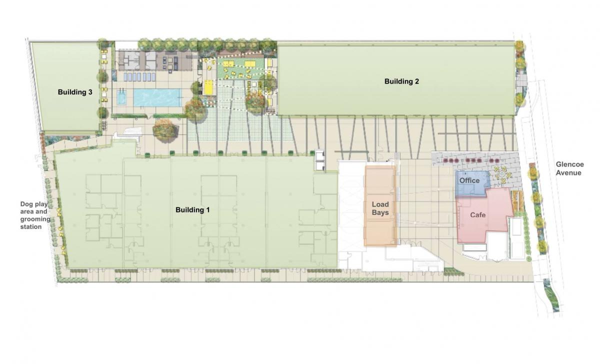 INclave Building Site Plan (1)