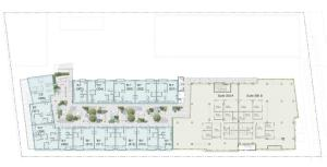 3rd floor site plan